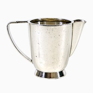 Silberner Milchkrug von Gio Ponti für Fratelli Calderoni, 1950er
