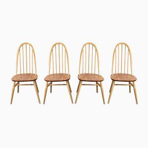 Vintage Quaker Stühle von Lucian Ercolani für Ercol, 1960er, 4er Set