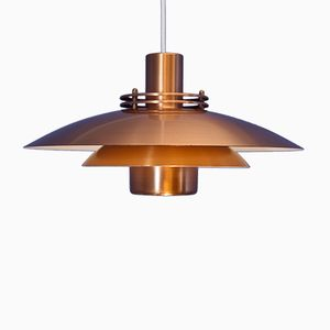Mid-Century Danish Copper Pendant from Form Light