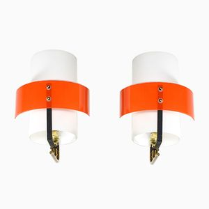 Italian Sconces, 1950s, Set of 2