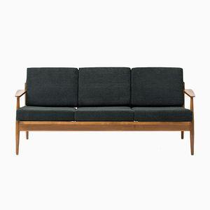 Vintage Belgian 3-Seater Sofa