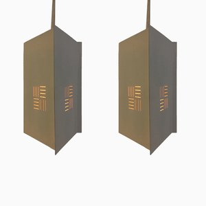 Mid-Century Pendant Lamps from ASEA, Set of 2