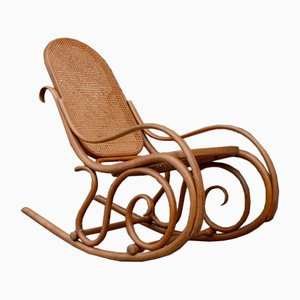 Rocking Chair Antique de Thonet, 1908