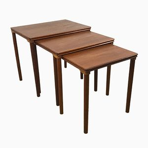 Danish Nesting Tables in Teak from Toften, 1970s