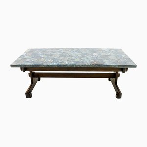 Apatit Stone Mosaic Topped Coffee Table by Sergio Rodrigues, 1964