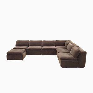 Canapé Modulaire Vintage Marron de Cor