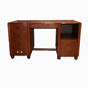 Vintage Art Deco Schreibtisch aus Eiche