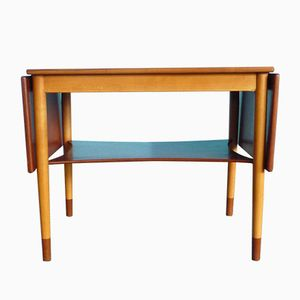 Danish Folding Table by Børge Mogensen for Søborg Møbler, 1950s