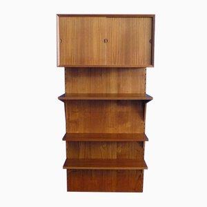 Dänisches Teak Regalsystem von Poul Cadovius für Cado, 1960er