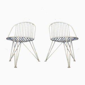 Dreibein Stühle von Mauser, 1950er, 2er Set