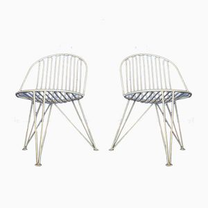 Tripod Chairs from Mauser, 1950s, Set of 2