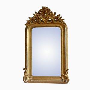 Miroir Antique Doré, France