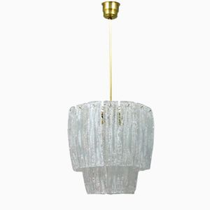 Italienische Vintage Murano Glaslampe, 1960er