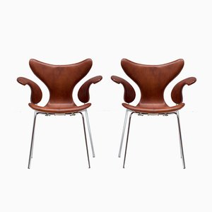Seagull Chairs by Arne Jacobsen, 1960s, Set of 2