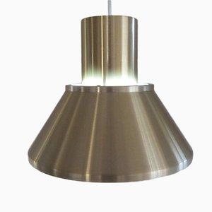 Brass Pendant by Johannes Hammerborg for Fog & Mørup, 1970s