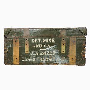 Vintage Munitionskiste aus dem Zweiten Weltkrieg