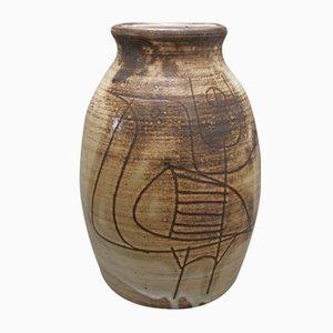 Keramik Vase von Jacques Pouchain, 1960er