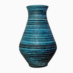 Französische Keramik Vase von Accolay, 1960er