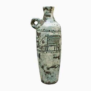 Vaso in ceramica di Jacques Blin, anni '50