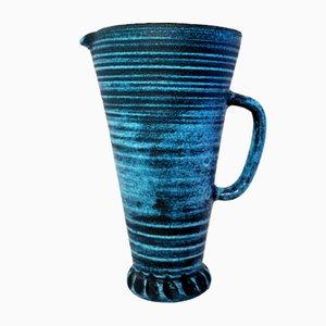 Großer Gauloise Series Keramikkrug von Accolay, 1960er