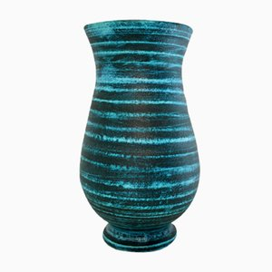 Gauloise Series Ceramic Vase from Accolay, 1960s