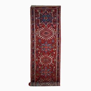 Tappeto da corridoio Karajeh antico fatto a mano, Iran, anni '20
