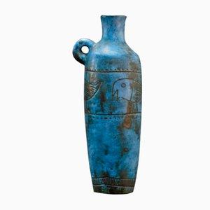 Blaue Vase von Jacques Blin, 1950er