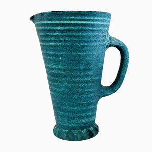 Gauloise Series Ceramic Jug from Accolay, 1960s