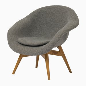 Mid-Century Grey Chair by František Navrátil for Tatra, 1960s