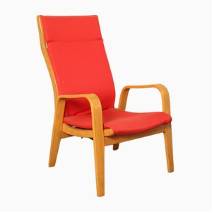 FB05 Red Armchair by Cees Braakman for Pastoe, 1950s