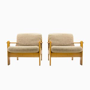 Mid-Century Antimott Armchairs from Wilhelm Knoll, 1950s, Set of 2