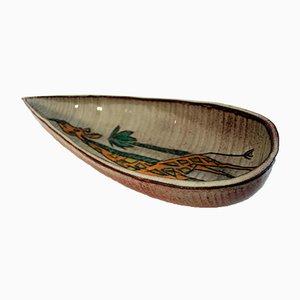 Mid-Century Tasse aus Keramik von Accolay