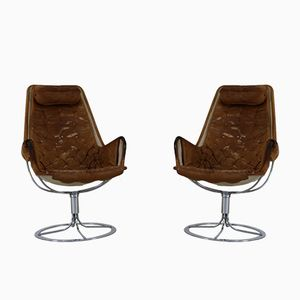Jetson Swivel Easy Chairs by Bruno Mathsson for Dux, 1960s, Set of 2