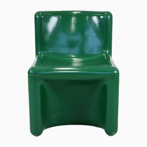 Green Polyester Chair from Kembo, 1970s