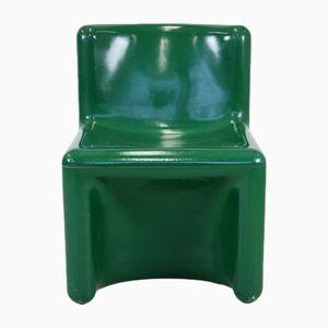 Grüner Polyester Stuhl von Kembo, 1970er