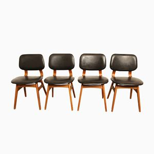 Danish Dining Room Chairs, 1960s, Set of 4