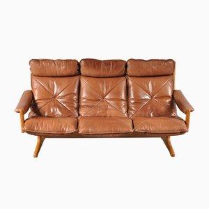 Skandinavisches Drei-Sitzer Sofa von Lied, 1970er