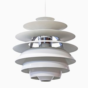 PH Snowball Ceiling Light by Poul Henningsen for Louis Poulsen, 1980s