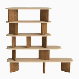 Spindle Bookcase by Zp Studio for Dialetto Design
