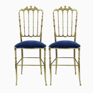 Chiavari Chairs, 1960s, Set of 2
