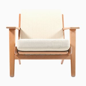 GE-290 Teak Easy Chair by Hans J.Wegner for Getama, 1960s