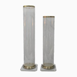 Methacrylat Säulen, 1980er, 2er Set