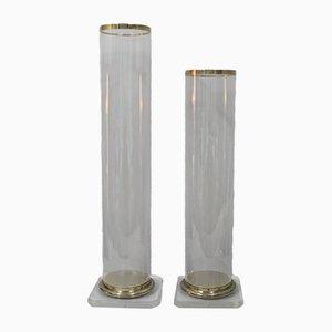Methacrylate Columns, 1980s, Set of 2