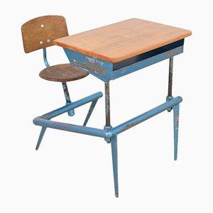 Model 800 School Desk by Jean Prouvé for Atelier Jean Prouvé, 1952