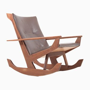 Teak Rocking Chair by Georg Jensen for Kubus, 1960s