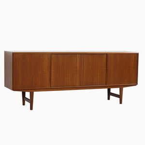 Vintage Danish Sideboard in Teak by E.W. Bach for Sejling Skabe