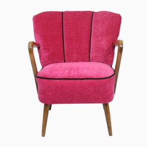 Vintage Pink Armchair, 1950s