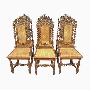 Vintage Oak Chairs, Set of 6