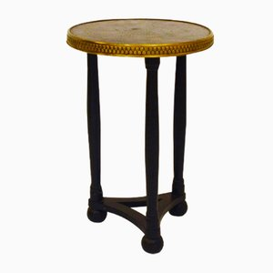 Table with Copper & Brass Top, 1930s