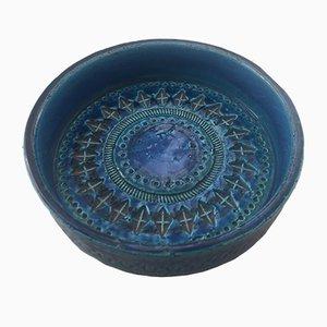 Italian Ceramic Bowl by Aldo Londi for Bitossi, 1960s